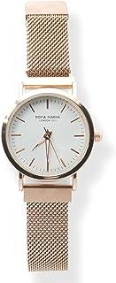 Xiaoya Reloj de Pulsera para Mujer con Elegante Cinturón de Metal y Caja Ultradelgada