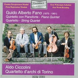 Fano;Piano Quintet/String Q