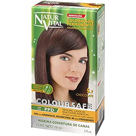 Naturaleza y Vida Coloursafe Tinte Permanente Tono 5.7 Chocolate - 150 ml