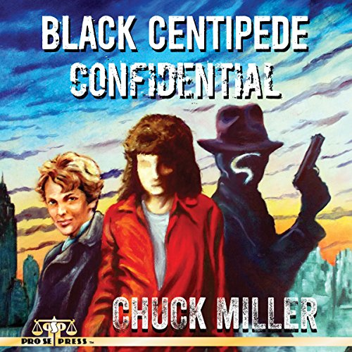 Black Centipede Confidential audiobook cover art