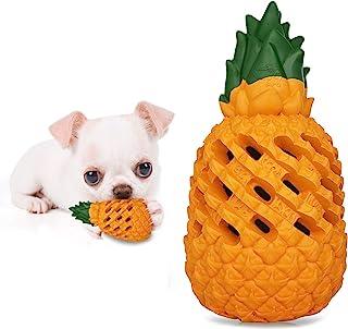 Fairwin Dog Pineapple Toys for Small Dog Breeds Chihuahua Pomeranian Corgi and Poodles- Food Grade Non-Toxic Puppy Teethin...