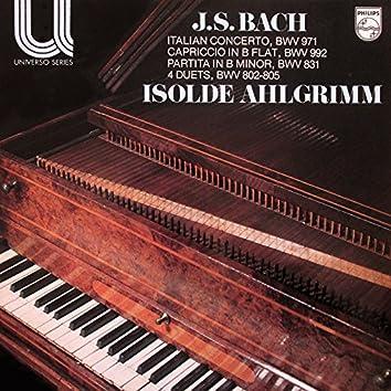 Bach, J.S.: Italian Concerto; Partita in B Minor; 4 Duets; Capriccio in B Flat Major