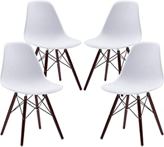 Phoenix Home Kenitra Contemporary Plastic Dining Chair,...