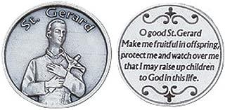 St. Gerard Commemorative Pocket Token, Patron Saint of Mothers
