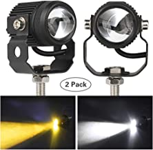 Kairiyard Motorcycle Driving Lights 2Pcs 60W 6000K 6000lm Super Bright 3 LED Pod Lights Spot High Beam Auxiliary Lights Cree LED Work Light Extra lighting for Motor ATV SUV Truck Boat Jeep Tractor