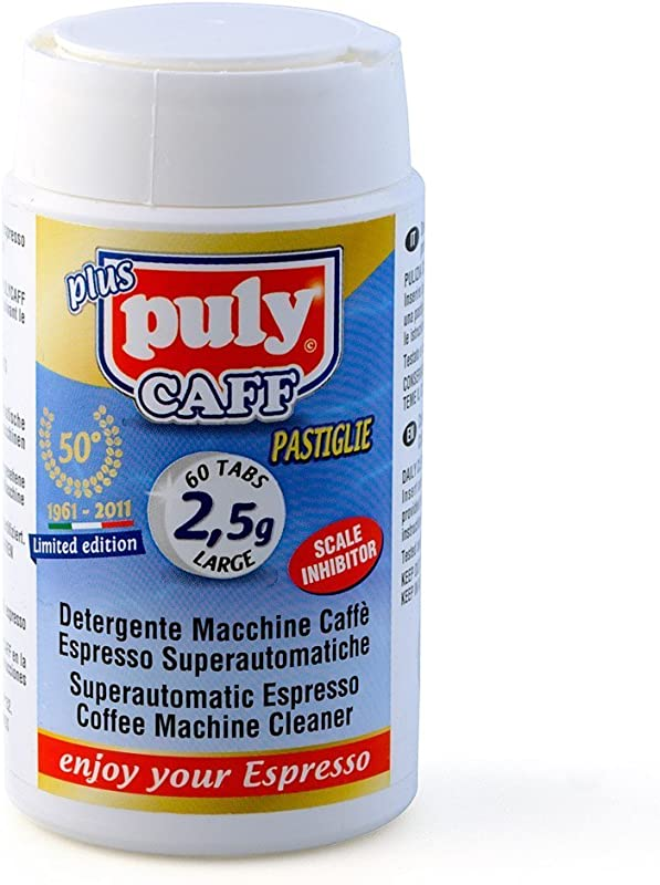 Puly Caff Superautomatic Espresso Machine Cleaner Tablets 2 5 G