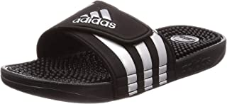 Adidas ADISSAGE, Men's Slippers, Black (Core Black/Silver Met./Core Black ), 9 UK (43 1/3 EU) (F35577)