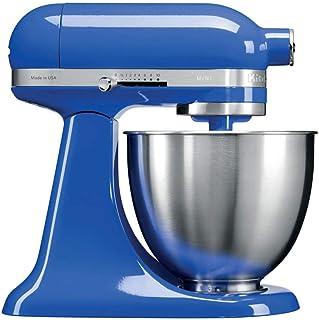 KitchenAid Mini - Robot de cocina (3,3 L, Azul, palanca, 200