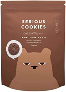 Serious Foods Cookies - Chewy Double Chocolate 170g (8 pack)