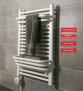FREIHE Toallero eléctrico Inteligente, radiador eléctrico para Toallas montado en la Pared, toallero para el baño del Hotel en casa, Secado a Temperatura Constante, 800X500 mm