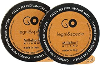 Millefiori カーディフューザー GO リフィル 詰め替え スパイシーウッド 13RGLS