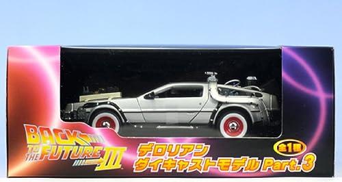promociones emocionantes Back to the Future DeLorean die die die cast model Part.3 (japan import)  más orden