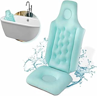 Fanwer Full Body Bath Pillow, Comfort Spa Pillow, Thicken Design Headrest Cushion, Hot Tub Pillow for Head, Neck, Shoulde...
