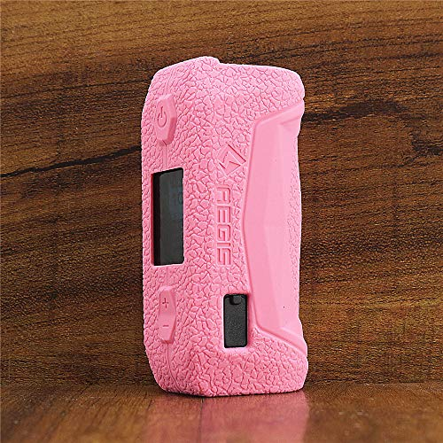 ModShield for Geekvape Aegis Solo 100W TC Silicone Case ByJojo Geek Vape Protective Cover Shield Skin Sleeve Wrap (Pink)