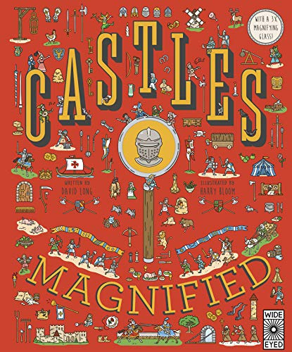 Castles Magnified: With a 3x Magnifying Glass