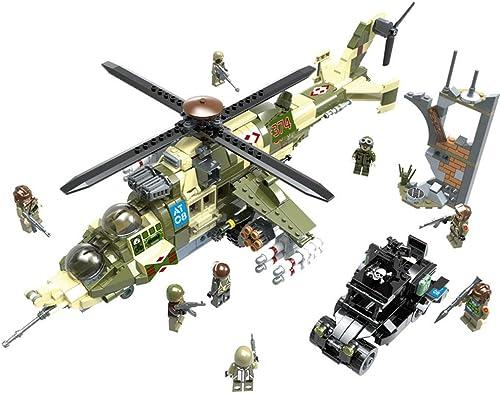 venta caliente Yyz Serie Serie Serie de tecnología mujer Ciervo Helicóptero Rompecabezas Inserción Bloques Iluminación Creativa Militar Cambio Nuclear Crisis Regalo de cumpleaños  hermoso