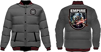 Star Wars Men's Galactic Empire Quilted Jacket