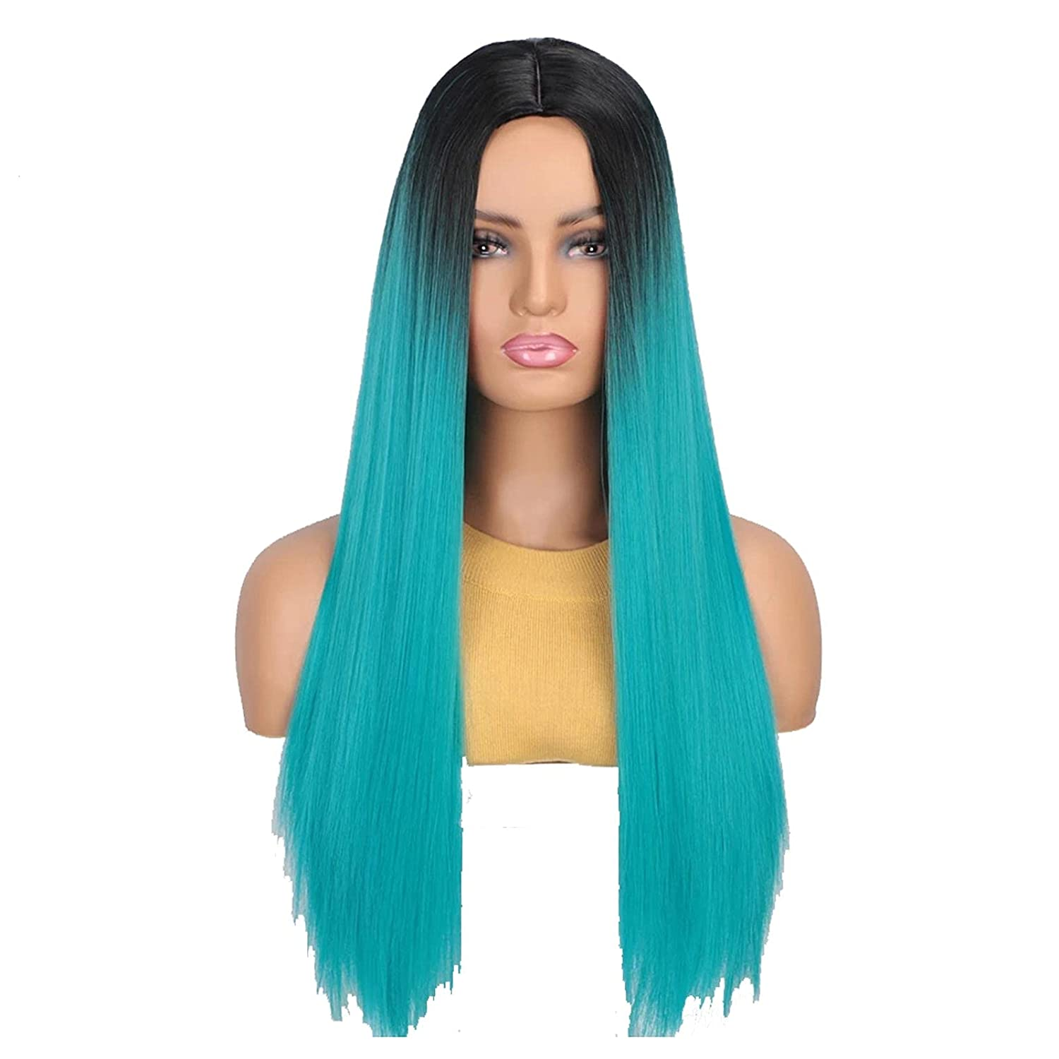 wigs Synthetic Cosplay Wigs for Gradien Part Long Limited Special Sales for sale Price Women Straight
