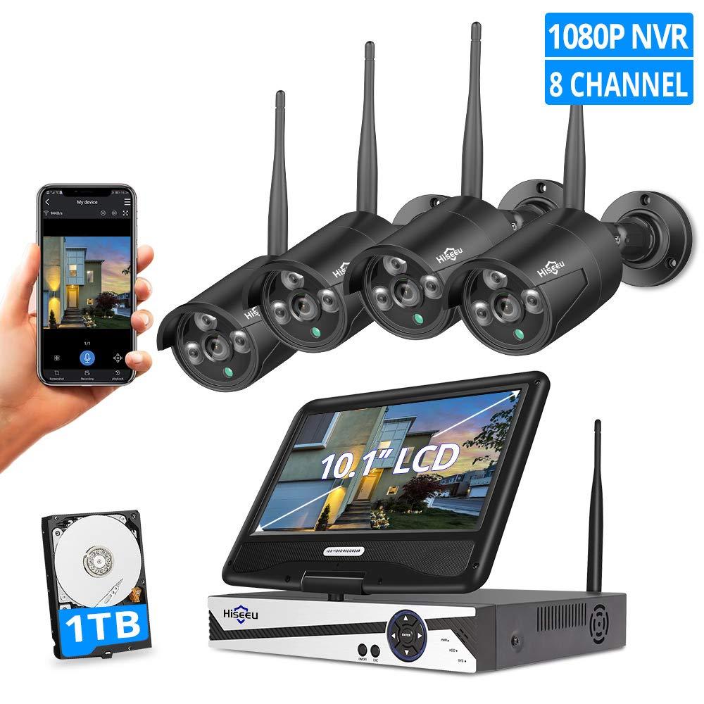 Monitor Wireless Security 10 1LCD Waterproof