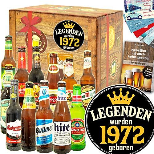 Legenden 1972 - Biersorten aus der Welt 12x - Geschenkset 1972