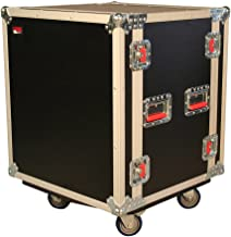 Gator Cases G-TOUR Road Ready Shock Rack Case with Heavy Duty Casters and Tour Grade Hardware; 17