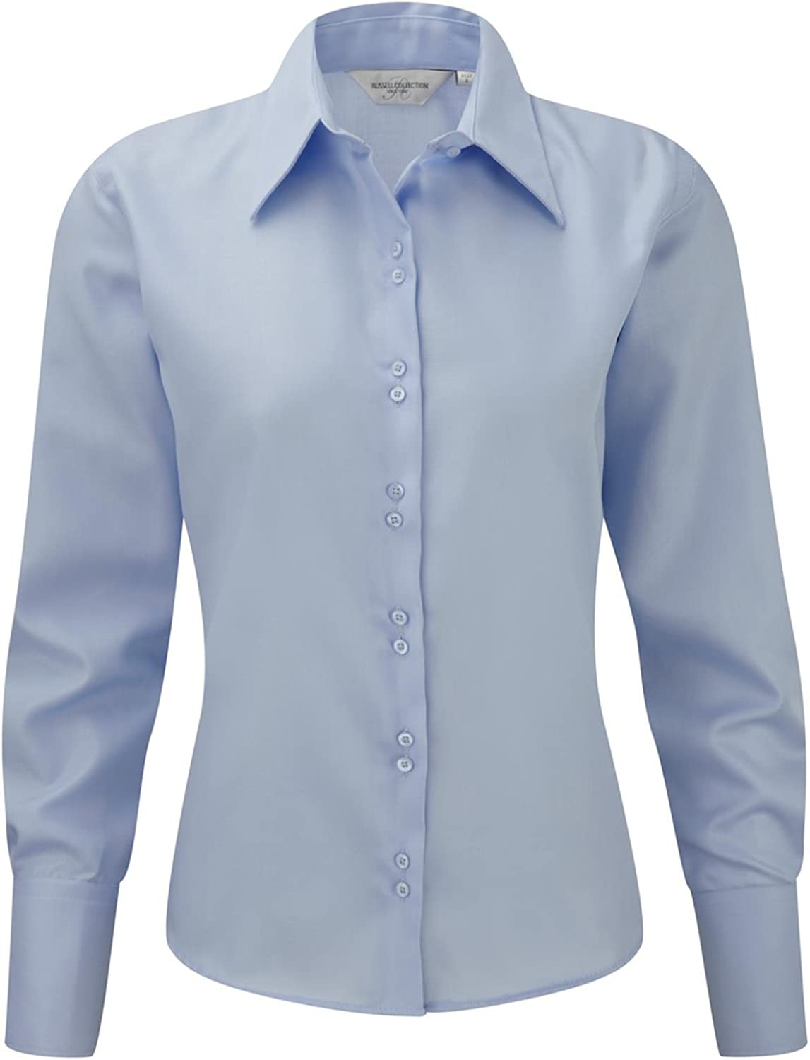 Russell Collection Womens Ultimate NonIron Long Sleeve Shirt