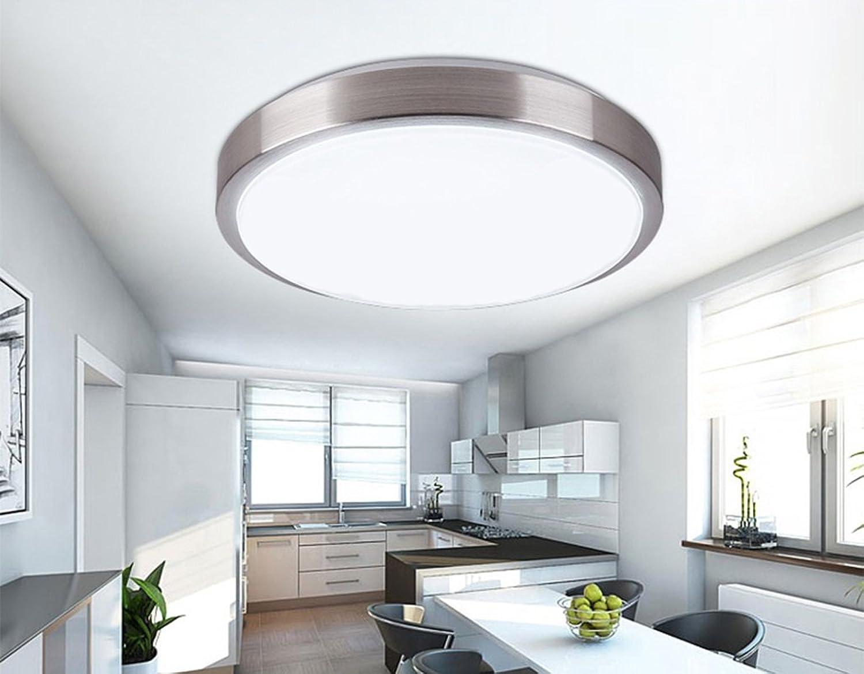 gre Deckenleuchte LED Wohnzimmer Runde 40cm) 30w ...