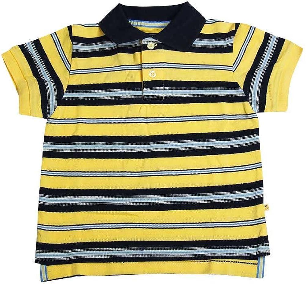 E-Land - Little Boys Short Sleeved Polo Shirt
