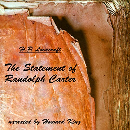The Statement of Randolph Carter audiobook cover art