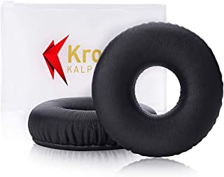 Krone Kalpasmos Replacement Ear Pads for Sony MDR-XB650BT Extra Bass On-Ear Headphones, Sony Repair Part Accessories Foam Ear Cushions with Self-Adhesive Stickers and Ziplock Transparent Frosted Bag