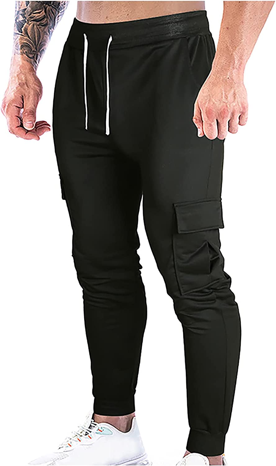 Men's Joggers Athletic Pants Casual Training Workout OFFicial site Tapered Swe Long Beach Mall