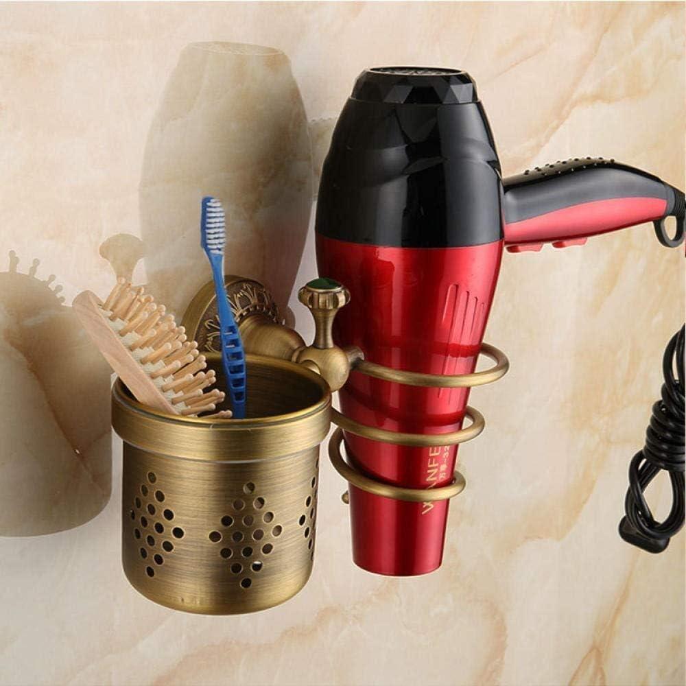 CESULIS Hair Dryer Bracket Shelv Ranking TOP9 Retro New arrival Bathroom Shelves