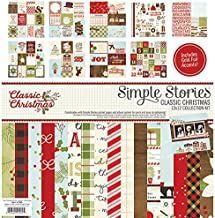 Simple Stories Classic Christmas Collection Kit, 6 Piece
