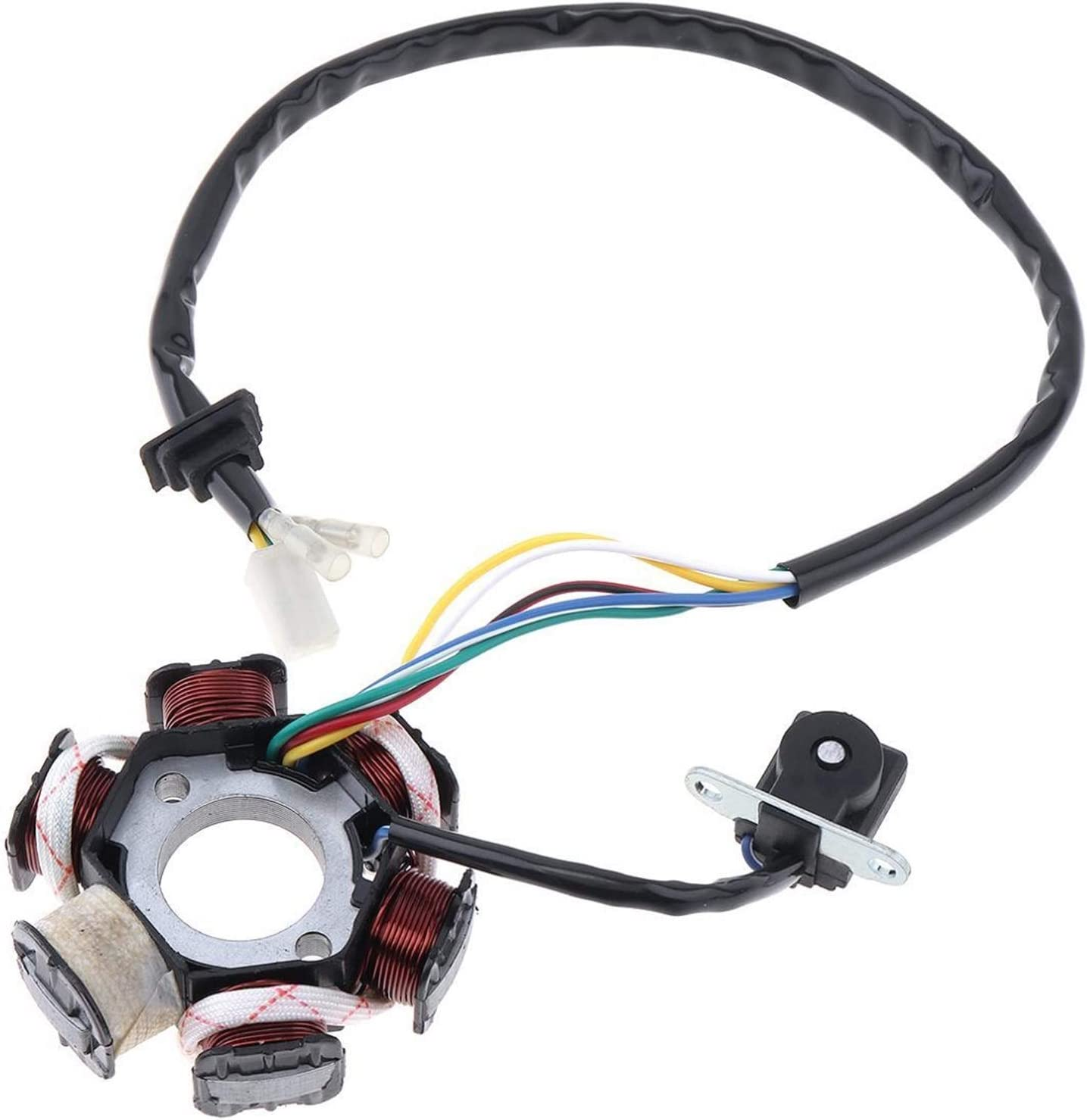 Bargain sale YIWMHE Motorcycle Scooter Generator 6 Coils Stator 1 for Sale special price Magneto