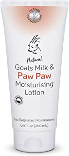 Natures Commonscents Goats Milk and Paw Paw Moisturising Lotion, 200 ml