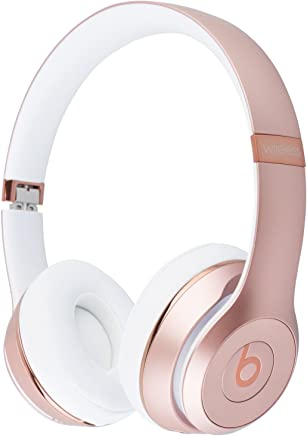 Beats Solo3 Wireless On-Ear Headphones - Rose Gold (Renewed)