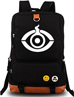 YOYOSHome Kamen Rider Anime Masked Rider Cosplay Luminous Daypack Backpack School Bag