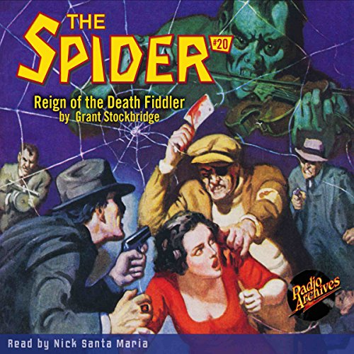 Spider #20, May 1935 (The Spider) Titelbild