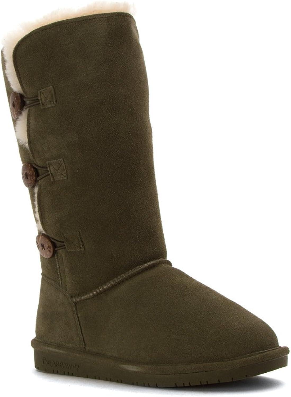 Bearpaw Women's Lauren Olive boots 7 M