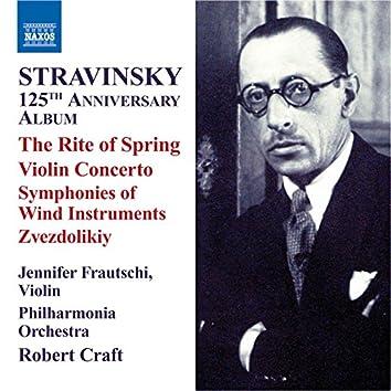 Stravinsky: 125th Anniversary Album: The Rite of Spring - Violin Concerto