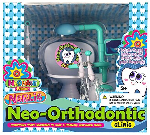Dolls /& Accessories Playset Neonate Nerlie Accessories Micro Kit By Distroller