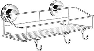 浴室用ラック 強力 吸盤 お風呂用 ステンレス 水切り バス用品 改良…