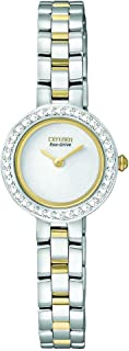 Citizen Women's EX1084-55A Eco-Drive Silhouette Crystal Watch