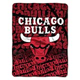 NBA Chicago Bulls 'Redux' Micro Raschel Throw Blanket, 46' x 60'