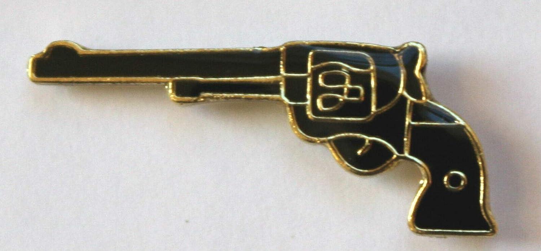 New life NRA Gun Lapel Pin Six Shooter Pistol Ranking TOP4 Revolver Right Tack Tie Tac