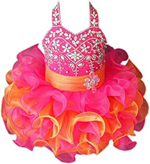 ChengCheng Little Baby Kids Pageant Party Cupcake Pageant Dress