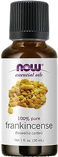 NOW Essential Oils, Frankincense Oil, Centering Aromatherapy Scent, Steam Distilled, 100% Pure, Vegan, Child Resistant Cap...