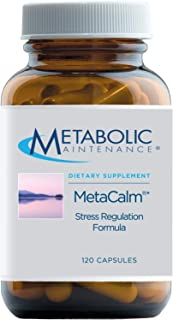 Metabolic Maintenance MetaCalm - Sleep + Mood Support Supplement - Synergistic Complex with Folate, Magnesium, GABA, 5-HTP...