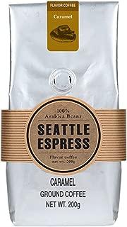 フレーバーコーヒー キャラメル(粉)200g シアトルエスプレス Seattle Espress Flavor Coffee Caramel Ground