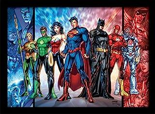 "DC Comics ""Justice League United"" Framed Print, 30 x 40 cm"